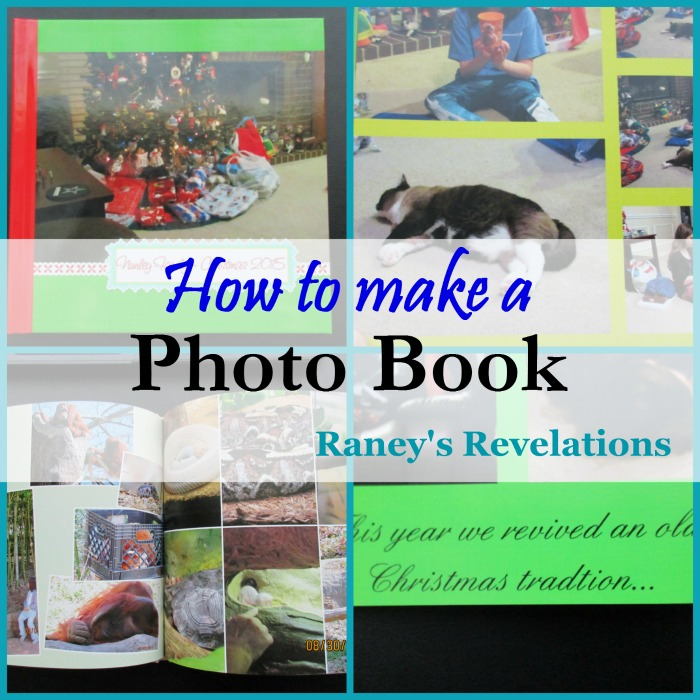 How to make a photo book | www.raneysrevelations.com