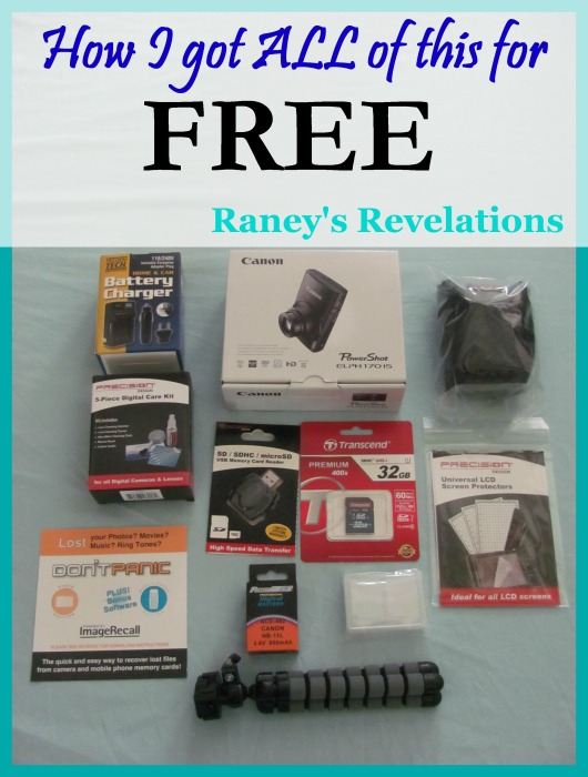 How I got a Digital Camera for FREE | www.raneysrevelations.com