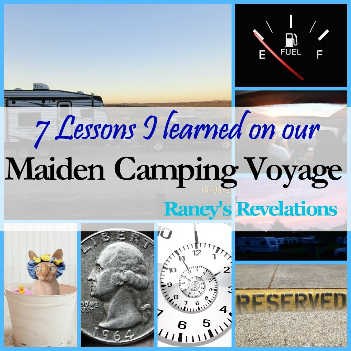 7 Lessons I learned on our maiden camping voyage | www.raneysrevelations.com