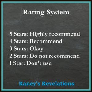Rating System | www.raneysrevelations.com