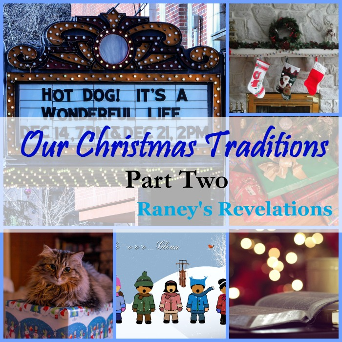 Our Christmas Traditions - Part 2 | www.raneysrevelations.com