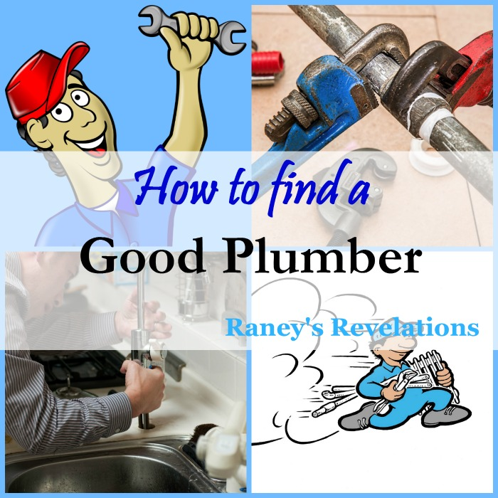 How to find a good plumber | www.raneysrevelations.com