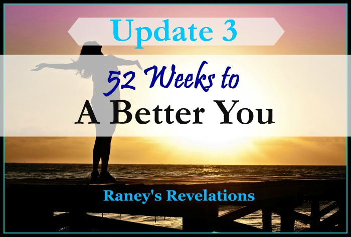 52 Weeks to a Better You - Update 3 | www.raneysrevelations.com