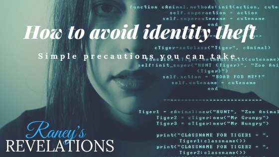 how to avoid identity thefts